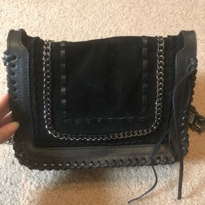 Zara Suede Shoulder Bag